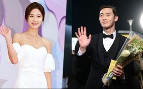 """Dàn sao """"She was pretty"""" lộng lẫy tái hợp tại thảm đỏ MBC Drama Awards 2015"""
