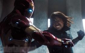 """Cận cảnh đại chiến giữa The Winter Soldier và Iron man trong """"Captain America: Civil War"""""""