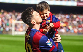Bật cười trước câu hỏi ngây thơ của con trai Messi