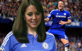 Công nương Kate Middleton bất ngờ tiết lộ là fan Chelsea
