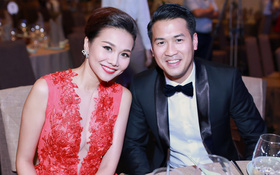 Thanh Hằng khoe vẻ quyến rũ bên Phillip Nguyễn trong sự kiện
