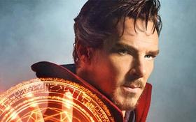 """Hé lộ tạo hình quyến rũ của Benedict Cumberbatch trong """"Doctor Strange"""""""