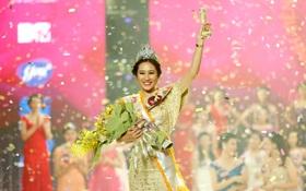 """Cô sinh viên ĐH Hà Nội đăng quang """"Nữ sinh viên Việt Nam duyên dáng 2015"""""""