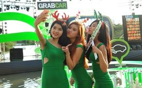 Grabcar phủ xanh mùa lễ hội