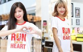 Quỳnh Anh Shyn, An Japan cùng tham gia ngày hội chạy bộ gây quỹ cho trẻ em mắc bệnh tim