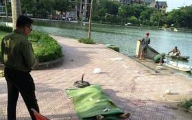 Hà Nội: Vớt được thi thể người đàn ông cởi trần