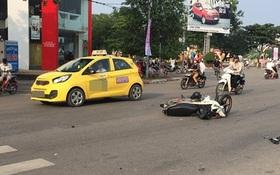 Đâm bay xe máy, cả 4 thanh niên nhất quyết không ai nhận mình là người lái xe