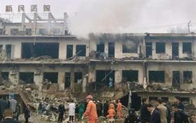 Nổ tòa nhà tại Trung Quốc làm hơn 100 người thương vong