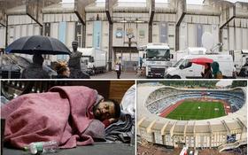 Người ăn xin khổ sở ngủ ngoài sân Anoeta suốt 8 tháng và hành động ấm tình người của Sociedad