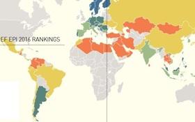 Châu Á dẫn đầu thế giới về khả năng sử dụng tiếng Anh