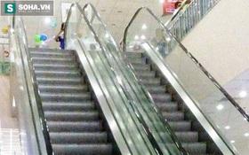 Người phụ nữ ngã lộn nhiều vòng ở thang cuốn siêu thị Co.opmart