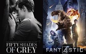 """Mâm xôi vàng 36 - Cuộc tranh tài gay cấn của """"Fifty Shades of Grey"""" và """"Fantastic Four"""""""