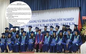 Sinh viên trường Luật đóng gần 1 triệu đồng cho lễ tốt nghiệp, nhà trường nói chỉ... thăm dò