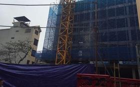Hà Nội: Sập giàn giáo công trình, 2 công nhân tử vong tại chỗ