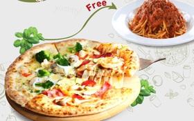 """Truy tìm chiếc pizza 2 vị khiến dân mạng """"dậy sóng"""""""
