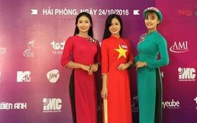 """3 sinh viên tiêu biểu ĐH Hàng hải lọt top 30 """"Nữ sinh viên Việt Nam duyên dáng 2016"""""""