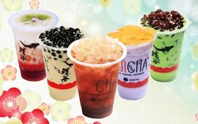 Koicha - Trà sữa Nhật Bản với trà hoa Sakura mát lạnh