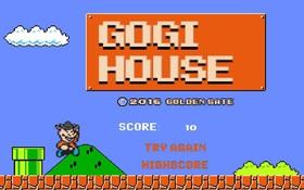 """Trở về tuổi thơ với Super Mario phiên bản chú bò Gogi đang """"gây bão"""""""