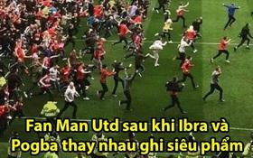 Chết cười với loạt ảnh và video chế mừng Man Utd quay trở lại mạch thắng