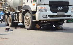 Người đàn ông bị xe bồn cán gần lìa chân gào thét giữa đường phố Sài Gòn