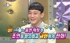 Chen (EXO) bảo vệ Suho trước thái độ bất lịch sự của MC