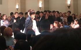 EXO hát nhắng nhít, cùng Red Velvet, Super Junior đến dự đám cưới của quản lý điển trai nhà SM