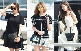 """Hani (EXID) và T-ara tại sân bay: Đơn giản mà vẫn """"sang chảnh"""" là đây!"""
