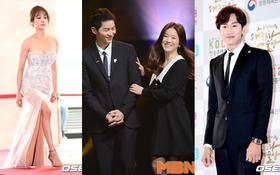 Song - Song liên tục cười thân mật, dàn nghệ sĩ Hàn khoe sắc nóng bỏng tại sự kiện danh giá
