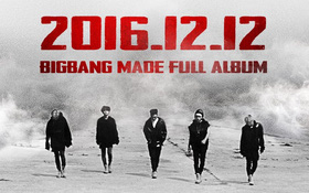 Big Bang tung poster thông báo ngày trở lại