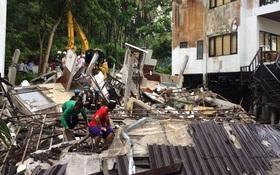 Thái Lan: Khách sạn sập chôn vùi nhiều du khách, ít nhất 1 người chết