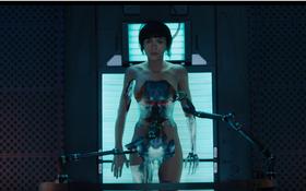 """Choáng ngợp với tạo hình robot của Scarlett Johansson trong """"Ghost In The Shell"""""""