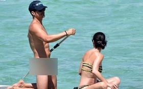 Orlando Bloom khỏa thân hoàn toàn khi đi chơi biển với Katy Perry