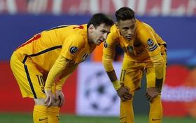 Barca chính thức thành cựu vô địch Champions League sau trận thua sốc Atletico Madrid