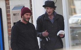 Không chỉ là soái ca yêu vợ con, Beckham còn tử tế với người vô gia cư thế này