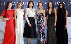 Jennifer Phạm khoe 3 vòng nóng bỏng, đọ sắc cùng các hoa hậu quốc tế