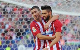 Atletico giữ vững ngôi đầu La Liga bằng chiến thắng hủy diệt 7-1
