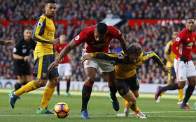 Xem lại 2 tình huống Man Utd mất oan phạt đền dù cầu thủ Arsenal phạm lỗi mười mươi