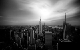 Ngắm nhìn địa danh nổi tiếng tại New York qua những bức hình đen trắng ấn tượng