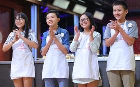 """1 trong 4 thí sinh này sẽ là Quán quân """"Vua đầu bếp nhí"""" mùa đầu tiên!"""