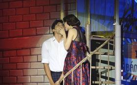 Hoa Khôi Nam Em bị loại sau khi hôn hot boy trên sân khấu