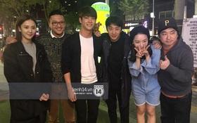 """Đạo diễn Khải Anh hội ngộ Kang Tae Oh và dàn diễn viên """"Tuổi thanh xuân"""" tại Hàn Quốc"""