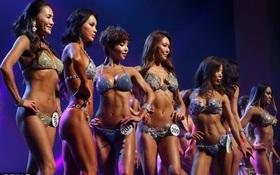 """Những hình ảnh trong cuộc thi """"Mỹ nhân cơ bắp"""" ở Hàn Quốc"""