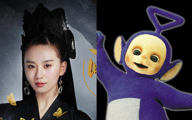 """""""Túy Linh Lung"""": Lưu Thi Thi bị chê trông như nhân vật Tinky Winky trong Teletubies"""