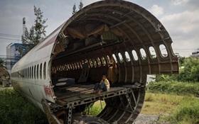 Ngôi làng kỳ lạ ở Thái Lan, nơi tất cả người nghèo đều sinh sống trong máy bay