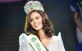 HH Philippines từ bỏ vương miện sau khi bị chỉ trích vì nói xấu Tân HH Trái Đất