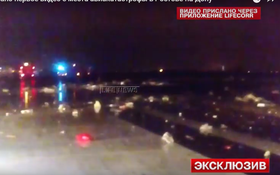 Video: Hiện trường tan nát vụ máy bay Dubai rơi tại Nga