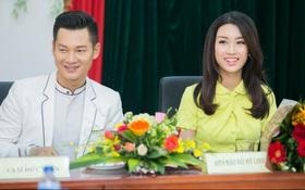 """Tân Hoa hậu Mỹ Linh xinh đẹp rực rỡ, """"kết đôi"""" cùng Đức Tuấn trong dự án quảng bá du lịch"""