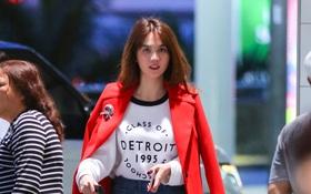 Ngọc Trinh xinh đẹp xuất hiện ở sân bay, sang Mỹ thăm người tình tỷ phú?