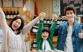 Sưởi ấm trái tim với gia đình nhỏ của bé Mason, Kim Ha Neul và Lý Trị Đình