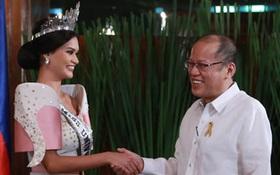 Hoa hậu Hoàn vũ 2015 gặp gỡ Tổng thống Philippines sau tin đồn hẹn hò
